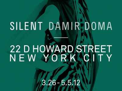 SILENT DAMIR DOMA SS12 NYC