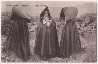 Women Wearing Capotes