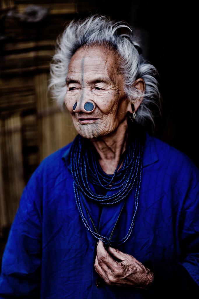 Northeast Indias Fading Tattoos Sang Bleu