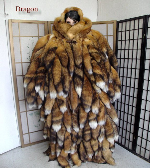 fetish Fur coat