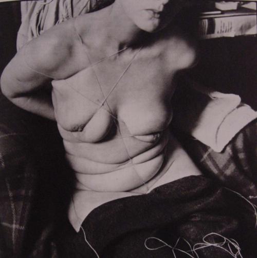 Hans Bellmer, Unica Zürn Tied Up, 1958.