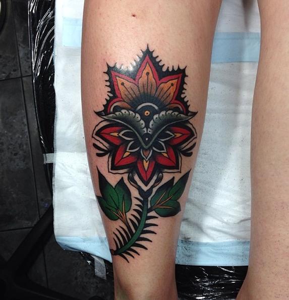 An interview with tattooer james mckenna sang bleu for Sang bleu tattoo